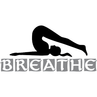 BREATHE Yoga T-Shirt Gifts Cards