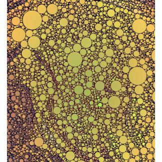 Geometric Patterns | Green and Orange Circles