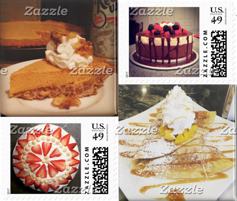 Dessert Postage and Magnets