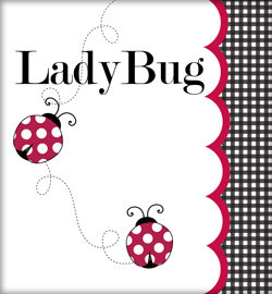 Lady Bug in Red