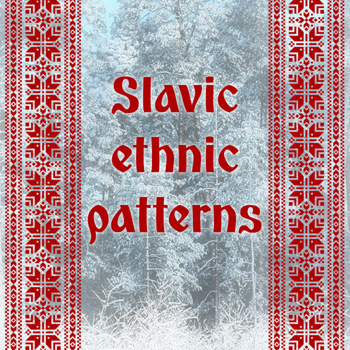 Slavic ethnic patterns