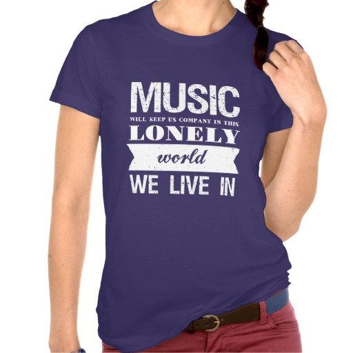 T-shirt: Music