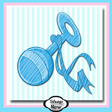 Boy Baby Rattle - Baby Gifts