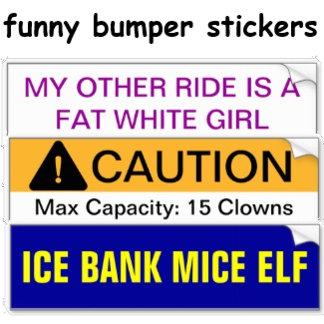 Funny Bumper Stickers