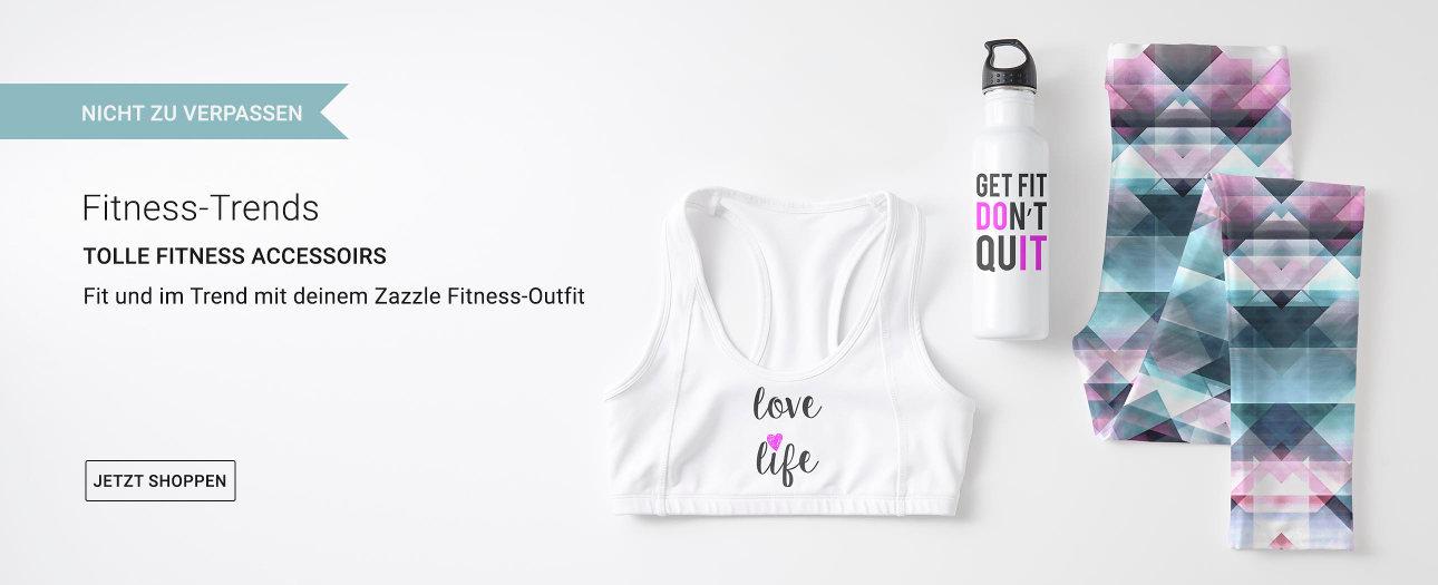 Fitness-Trends bei Zazzle