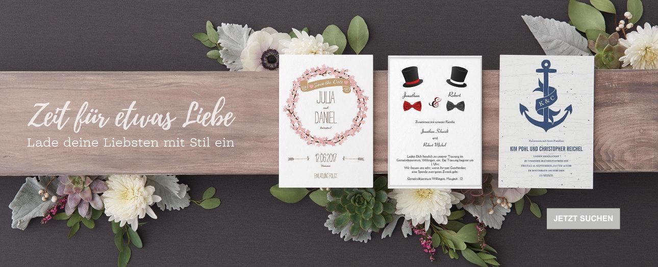 Hochzeitseinladungen auf Zazzle Österreich
