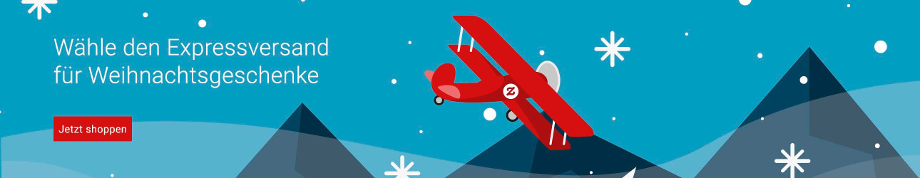 Wähle den Express-Versand für Weihnachtsgeschenke