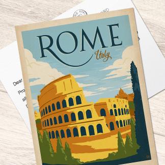 Illustrierte Postkarten