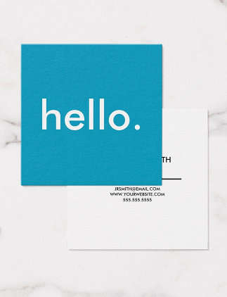 Hello Visitenkarte