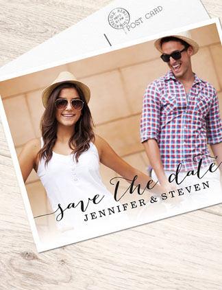Gestalte Hochzeitskarten für Deine Lieben und personalisiere Sie mit Deinen Fotos und Texten.
