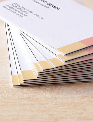 Individuell gestaltete Visitenkarten