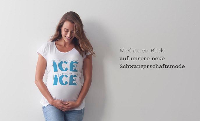 Umstands-T-Shirts für schwangere Damen