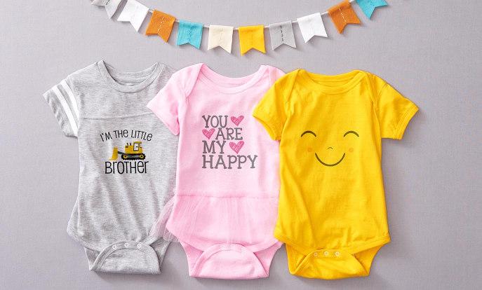 Individuelle Kleidung für Babys
