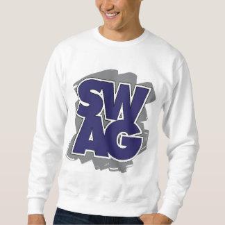 SWAG - Blau u. Grau Sweatshirt