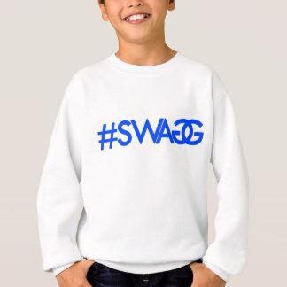 Swag Hashtag (blau) Sweatshirt
