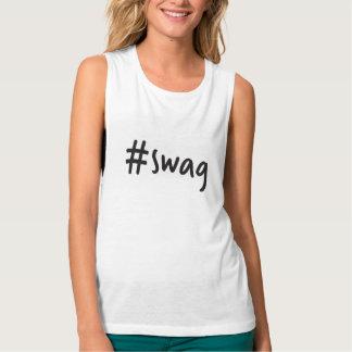 #swag Muskelunterhemd Tanktop