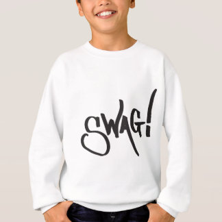 Swag-Umbau - Schwarzes Sweatshirt
