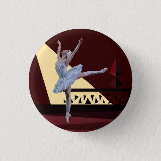 'Swan See Ballerina Runder Button 2,5 Cm