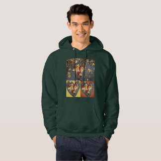 Sweatshirt der Herz-Blatt-Gruppen-2