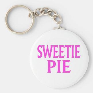 Sweetie-Torte Standard Runder Schlüsselanhänger