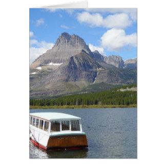 Swiftcurrent See - Glacier Nationalpark Karte