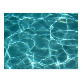 Swimmingpool Postkarten