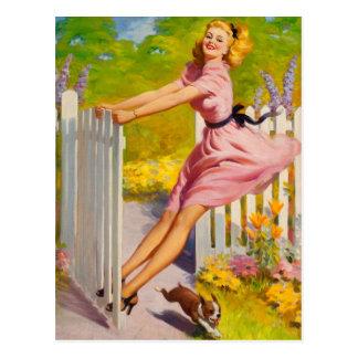 Swinging Into Summer, 1945 Postkarte