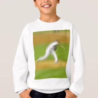 Swoosh-Neigung Sweatshirt
