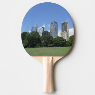 Sydney-Skyline-Klingeln Pong Paddel Tischtennis Schläger