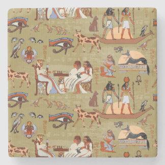 Symbol-Muster Ägyptens | Steinuntersetzer