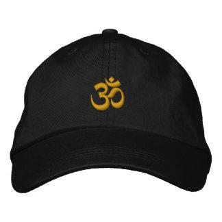 Symbol OM Omkara Bestickte Kappe
