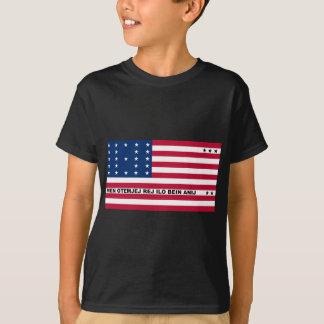 Symbolische Flagge von T-Shirt