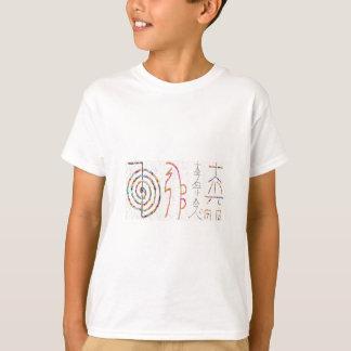 Symbolische Kunst: Reiki kosmisches Heilen T-Shirt