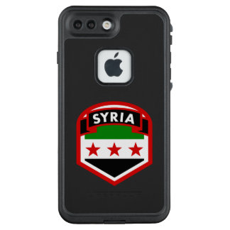 Syrische Flagge LifeProof FRÄ' iPhone 7 Plus Hülle