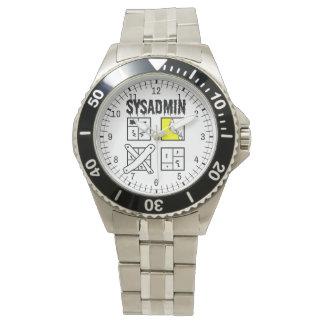 Sysadmin - Systemverwalter Uhr
