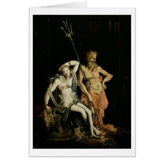 Szene der Hölle: Detail, das Hades und Persephone Karte