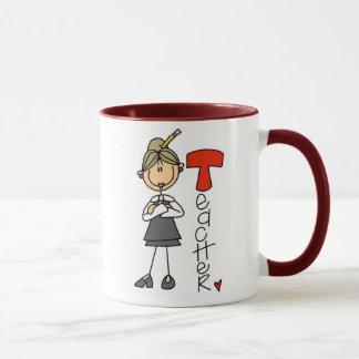 T ist für Lehrer Tasse