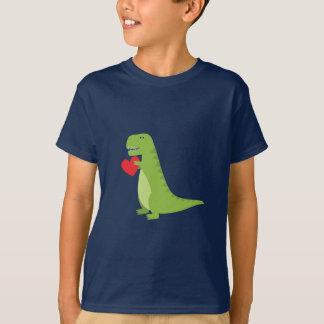 T-Rex Dinosauriervalentine-Shirt T-Shirt