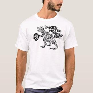 """""""T-Rex Hass-obenliegende Presse-"""" Fitness-T-Stück T-Shirt"""