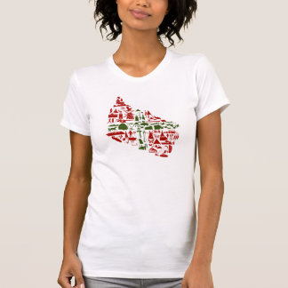 "T-Shirt ""Bornholm Logo"" Damen (American Apparel)"