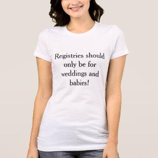 T - Shirt, der ein Register für Moslem-Amerikaner T-Shirt