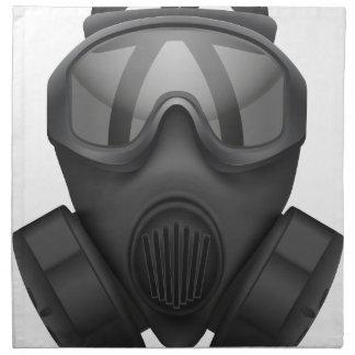 T Shirt-Gas-Maske Serviette