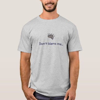 T-Shirt-Gehirn Entwicklung T-Shirt