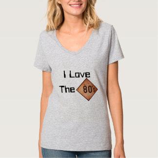 T - Shirt: I Liebe der 80er. Lite-Stahl Hemd
