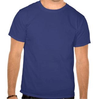 T - Shirt: Ich bin vom 80er. Blau Tshirt
