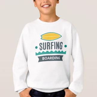 T - shirt Junge Surfing