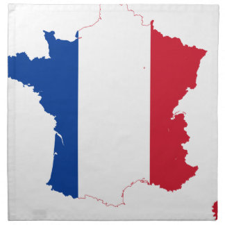 T-Shirt Karte-vonfrankreich Serviette