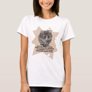 "T - Shirt ""Katze """
