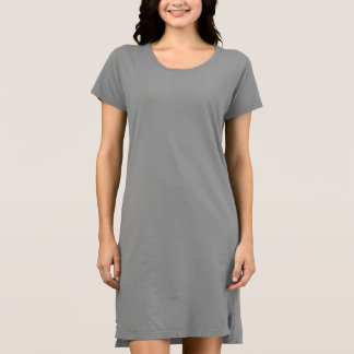 T - Shirt-Kleid der Frauen alternatives Kleider