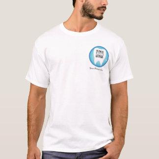 T - Shirt-Schablonen-zahnmedizinischer Zahn T-Shirt